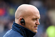 Gregor Townsend during the 2018 Autumn Test match between Scotland and Fiji at Murrayfield, Edinburgh, Scotland on 10 November 2018.