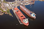 Aerial Photography of Global Commander at Baltimore's Curtis Bay Coal Terminal