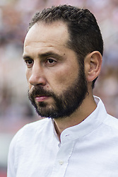 August 15, 2017 - Girona, Spain - Portrait of Pablo Machin from spain trainer of Girona FC during the Costa Brava Trophy match between Girona FC and Manchester City at Estadi de Montilivi on August 15, 2017 in Girona, Spain. (Credit Image: © Xavier Bonilla/NurPhoto via ZUMA Press)