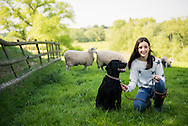 Campaign promoting how to be safe with your dog around livestock by Cheshire Police photographer  Ioan Said Photography
