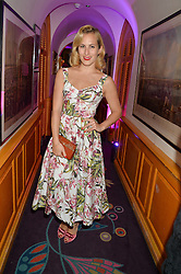 CHARLOTTE DELLAL at the Bedales Art & Design Party hosted by David Linley at Annabel's, 44 Berkeley Square, London on 30th June 2015.