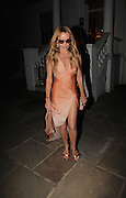 Amanda Holden Leaves the ITV Summer Party ,Chepstow Villas, Notting Hill,London<br /> ©Exclusivepix Media