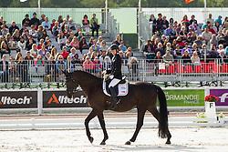 Laurentia Yen Yi Tan, (SIN), Ruben James 2 - Freestyle Grade Ia Para Dressage - Alltech FEI World Equestrian Games™ 2014 - Normandy, France.<br /> © Hippo Foto Team - Leanjo de Koster<br /> 25/06/14