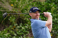 Stephen Gallacher (SCO) on the 2nd during Round 1 of the Oman Open 2020 at the Al Mouj Golf Club, Muscat, Oman . 27/02/2020<br /> Picture: Golffile   Thos Caffrey<br /> <br /> <br /> All photo usage must carry mandatory copyright credit (© Golffile   Thos Caffrey)