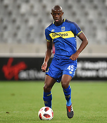 Cape Town-181002- According to Cape Town City coach Benni McCarthy,defender Kwanda Mngonyama did not play the way he did in the MTN 8 FINAL.He had a poor game against  of Bidvest Wits in a PSL clash at Cape Town Stadium,something he did not expect from him.Photographs:Phando Jikelo/African News Agency/ANA