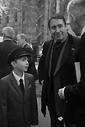 ANTONY VON HOFMANNSTHAL,JOOLS HOLLAND<br /> , Service of thanksgiving for  Lord Snowdon, St. Margaret's Westminster. London. 7 April 2017