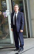 Andrew Marr Show <br /> at the BBC, Broadcasting House, London, Great Britain <br /> 3rd September 2017 <br /> <br /> <br /> Sir Keir Starmer, KCB, PC, QC Labour Member of Parliament for Holborn and St Pancras and Shadow Secretary of State for Exiting the European Union arriving for the Andrew Marr Show. <br /> <br /> Photograph by Elliott Franks <br /> Image licensed to Elliott Franks Photography Services