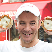 Iain Campbell Managing Director of Campbell's Bakery in Crieff delighted at Ewan McGregor's comments about his Scotch Pies on Twitter...24.07.12<br /> Picture by Graeme Hart.<br /> Copyright Perthshire Picture Agency<br /> Tel: 01738 623350  Mobile: 07990 594431