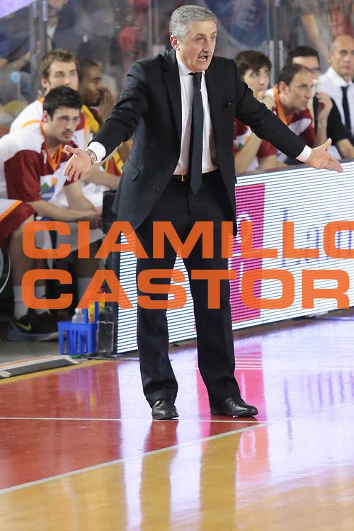 DESCRIZIONE : Roma Lega A 2012-2013 Acea Roma Lenovo Cantu playoff semifinale gara 5<br /> GIOCATORE : Calvani Marco<br /> CATEGORIA : delusione<br /> SQUADRA : Acea Roma<br /> EVENTO : Campionato Lega A 2012-2013 playoff semifinale gara 5<br /> GARA : Acea Roma Lenovo Cantu<br /> DATA : 02/06/2013<br /> SPORT : Pallacanestro <br /> AUTORE : Agenzia Ciamillo-Castoria/M.Simoni<br /> Galleria : Lega Basket A 2012-2013  <br /> Fotonotizia : Roma Lega A 2012-2013 Acea Roma Lenovo Cantu playoff semifinale gara 5<br /> Predefinita :