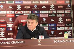 January 5, 2018 - Turin, Piedmont, Italy - Torino FC officially presented Walter Mazzarri as the club's new head coach during the press conference at Olympic Grande Torino Stadium on 05 January, 2018 in Turin, Italy. (Credit Image: © Massimiliano Ferraro/NurPhoto via ZUMA Press)