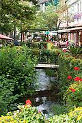 Ortsmitte von Wald-Michelbach, Odenwald, Hessen, Deutschland | Town center of Wald-Michelbach, Odenwald, Hesse, Germany