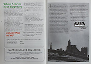 All Ireland Senior Hurling Championship Final,.03.09.1989, 09.03.1989, 3rd September 1989, .Antrim v Tipperary, .03091989AISHCF,.Tipperary 4-24, Antrim 3-9,..Matt Kavanagh and Son Limited, FBD Insurances,