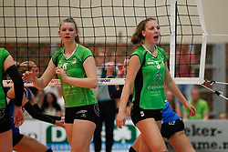 20180509 NED: Eredivisie Coolen Alterno - Sliedrecht Sport, Apeldoorn<br />Eline Timmerman (6) of Coolen Alterno, Iris Scholten (5) of Coolen Alterno<br />©2018-FotoHoogendoorn.nl