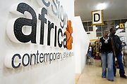 Stand of Design Africa at the 22nd Salon International de l'Artisanat de Ouagadougou (SIAO) in Ouagadougou, Burkina Faso on Saturday November 1, 2008.