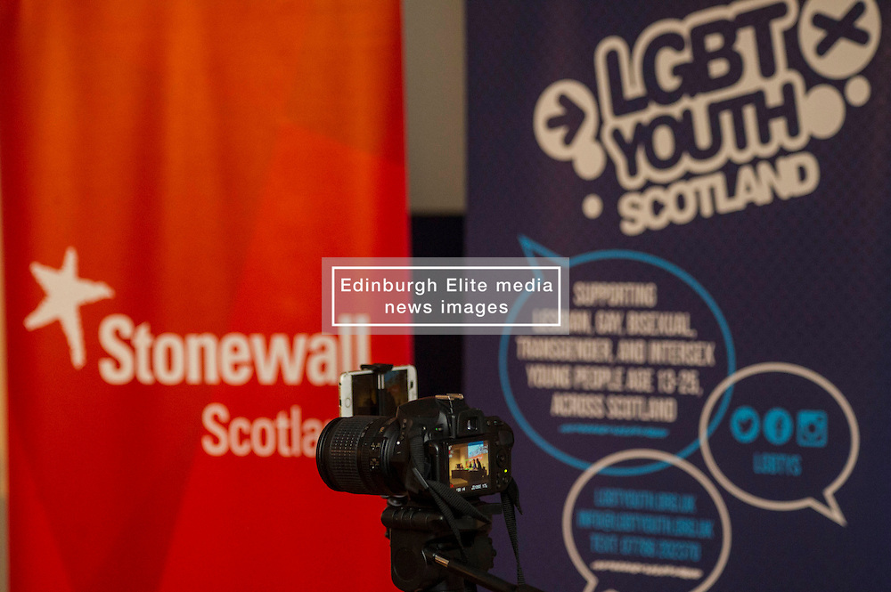 Pictured:<br /> <br /> Party leaders Nicola Sturgeon, Kezia Dugdale, Ruth Davidson, Willie Rennie and Patrick Harvie faced questions from the public at an LGBTI election hustings event arranged by Stonewall Scotland, LGBT youth Scotland, Equaity Network and The Scottish Equality Network at the Royal College of Surgeons of Edinburgh. Edinburgh. 31 March 2016<br /> <br /> Ger Harley | Edinburghelitemedia.co.uk