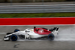 October 19, 2018 - Austin, United States - Motorsports: FIA Formula One World Championship; 2018; Grand Prix; United States, FORMULA 1 PIRELLI 2018 UNITED S GRAND PRIX , Circuit of The Americas , #9 Marcus Ericsson (SWE, Sauber F1 Team) (Credit Image: © Hoch Zwei via ZUMA Wire)
