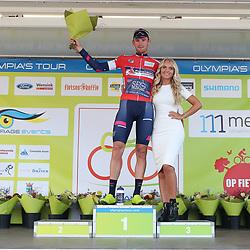 16-09-2018: Wielrennen: Olympia Tour: Beneden Leeuwen<br />Rode trui Jordi Meeus
