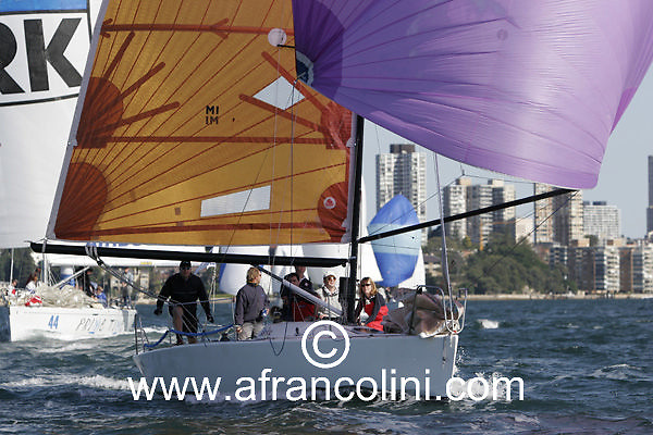 SAILING - BMW Winter Series 2005 - LONDON CALLING - Sydney (AUS) - 29/05/05 - ph. Andrea Francolini