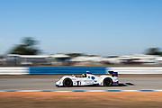 March 16, 2013: 61st Mobil 1 12 Hours of Sebring. 9 Bruno Junqueira, Alex Popow, Duncan Ende, RSR Racing, RSR Racing
