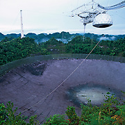 Arecibo radio telescope.Puerto Rico