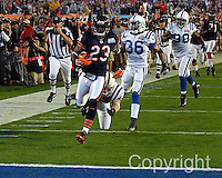 Chicago Bears 1st play for a TD in Super Bowl XLI