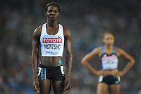 ATHLETICS - IAAF WORLD CHAMPIONSHIPS 2011 - DAEGU (KOR) - DAY 3 - 29/08/2011 - WOMEN 400M FINAL - AMANTIE MONTSHO (BOT) / WINNER - PHOTO : FRANCK FAUGERE / KMSP / DPPI