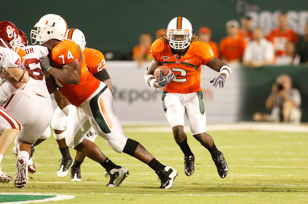 2009 Miami Hurricanes Football vs Oklahoma