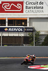 June 9, 2017 - Barcelona, Catalonia, Spain - 93 Marc Marquez from Spain of Repsol Honda Team (Honda) during the Monter Energy Catalonia Grand Prix, at the Circuit de Barcelona-Catalunya on June 9 of 2017. (Credit Image: © Xavier Bonilla/NurPhoto via ZUMA Press)