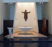 The Jesuit Chapel by architect Valentine Gunasekara. Bambalapitiya, Colombo.