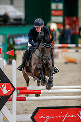 MUTH Julia (GER), El Bandiata B<br /> Leipzig - Partner Pferd 2020<br /> SPOOKS-Amateur Trophy - Small Tour Finale<br /> Springprüfung mit Stechen, int.<br /> Höhe: 1,15m<br /> 19. Januar 2020<br /> © www.sportfotos-lafrentz.de/Stefan Lafrentz