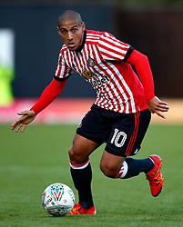 Wahbi Khazri of Sunderland - Mandatory by-line: Matt McNulty/JMP - 10/08/2017 - FOOTBALL - Gigg Lane - Bury, England - Bury v Sunderland - Carabao Cup - First Round