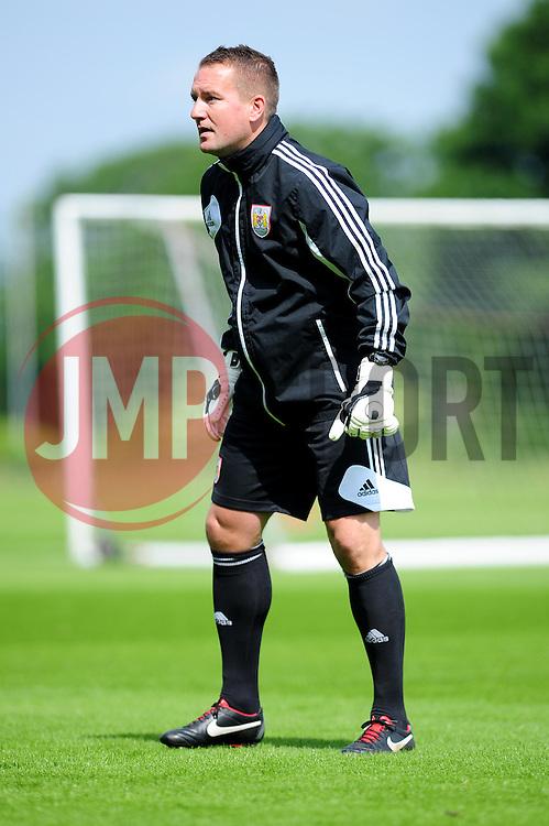 Bristol City's goalkeeping coach, Lee Kendall - Photo mandatory by-line: Dougie Allward/JMP - Tel: Mobile: 07966 386802 28/06/2013 - SPORT - FOOTBALL - Bristol -  Bristol City - Pre Season Training - Npower League One
