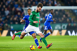Davy Propper of Brighton and Hove Albion - Mandatory by-line: Robbie Stephenson/JMP - 26/02/2019 - FOOTBALL - King Power Stadium - Leicester, England - Leicester City v Brighton and Hove Albion - Premier League