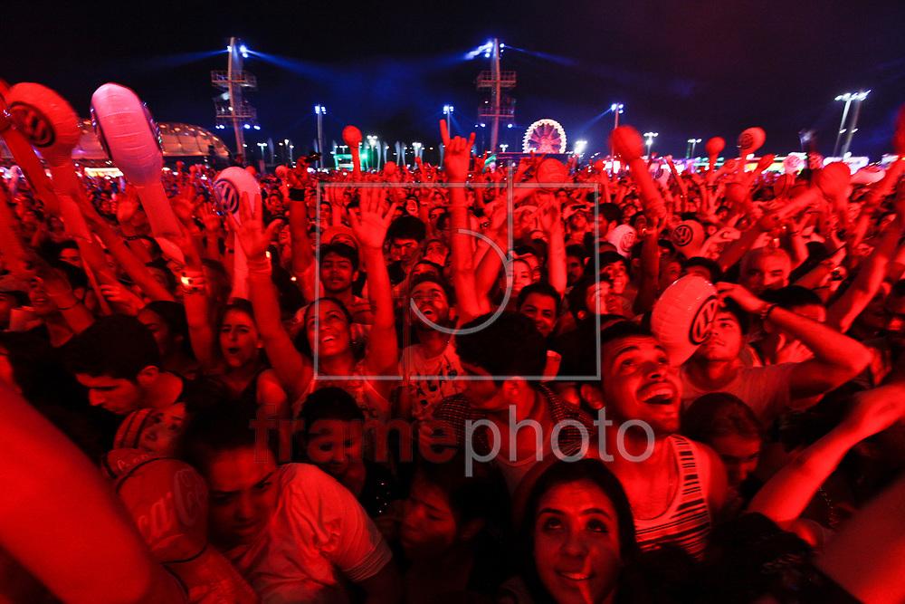 Rio de Janeiro - 21.09.2013 - ROCK IN RIO MOVIMENTACAO - Fotos: Bruno Poppe/ Frame