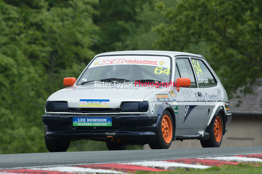 #64 Robert (Steve) CLAPTON, Ford Fiesta XR2 during BRSCC XR Challenge and Scottish Fiesta Championship as part of the BRSCC Club Car Championships at Oulton Park, Little Budworth, Cheshire, . May 23 2015. World Copyright Peter Taylor/PSP. Copy of publication required for printed pictures.  Every used picture is fee-liable. http://archive.petertaylor-photographic.co.uk