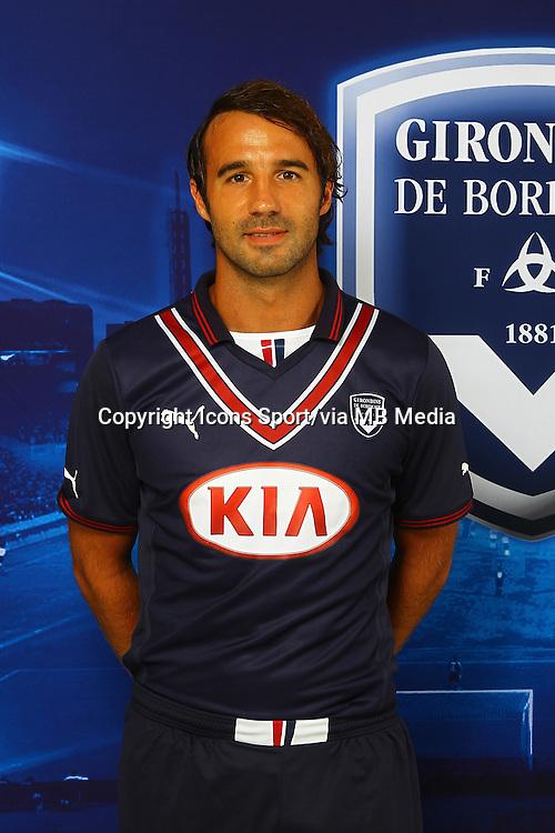 Marc PLANUS - 13.09.2013 - Photo officielle Bordeaux - Ligue 1<br /> Photo : Icon Sport