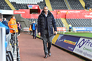Reading manager Paul Clement arriving at the Liberty Stadium before the EFL Sky Bet Championship match between Swansea City and Reading at the Liberty Stadium, Swansea, Wales on 27 October 2018.