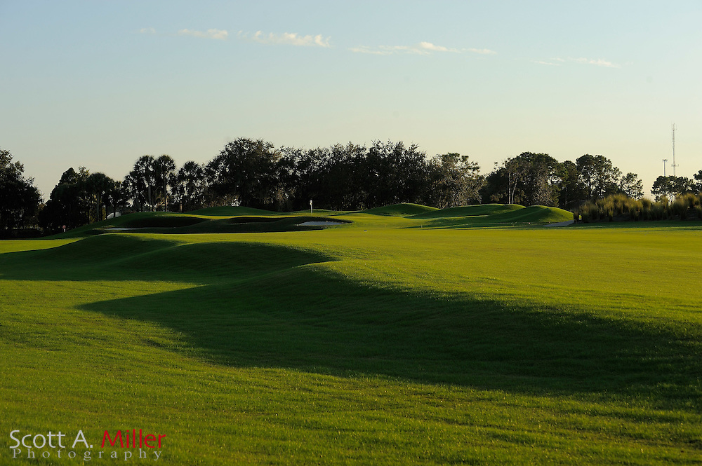 The second hole on the South Course at Grand Cypress on Oct. 19, 2010 in Orlando, Florida....©2010 Scott A. Miller
