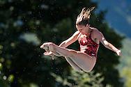 LALONDE Frederique CAN<br /> Bolzano, Italy <br /> 22nd FINA Diving Grand Prix 2016 Trofeo Unipol<br /> Diving<br /> Women's 3m springboard semifinal <br /> Day 02 16-07-2016<br /> Photo Giorgio Perottino/Deepbluemedia/Insidefoto