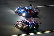 January 27-31, 2016: Daytona 24 hour: #63 Ferrari 488 GTE, #01 Lance Stroll, Alex Wurz, Brendon Hartley, Andy Priaulx, Ford Chip Ganassi Racing, Daytona Prototype