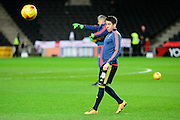 Middlesbrough Midfielder Carlos de Pena  during the Sky Bet Championship match between Milton Keynes Dons and Middlesbrough at stadium:mk, Milton Keynes, England on 9 February 2016. Photo by Dennis Goodwin.