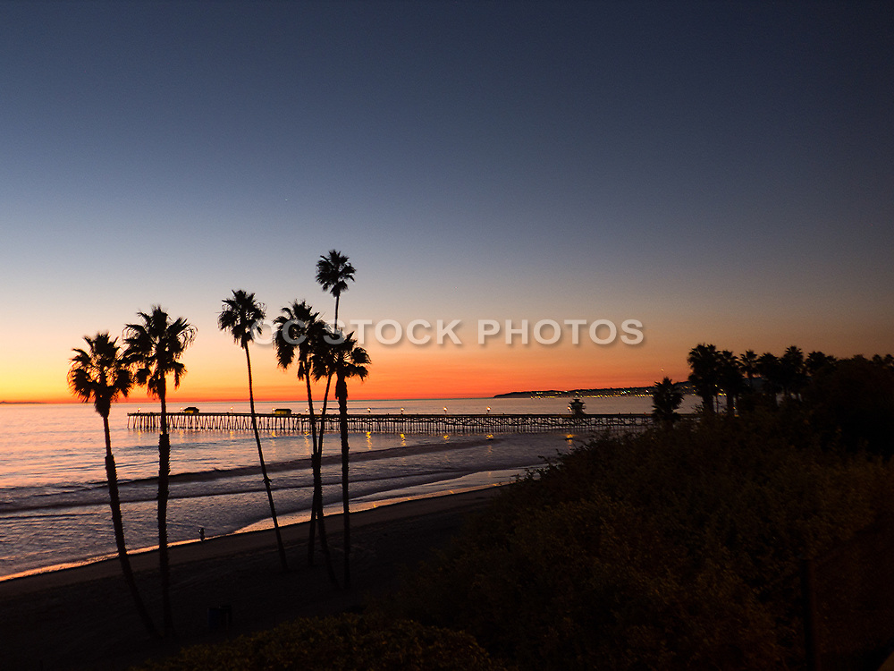 A View Of San Clemente Looking North Towards Dana Point