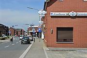 Duitsland, Tuddern, 19-6-2013Voormalig geannexeerd gebied rond Selfkant. Nederlandse familienamen en opschriften.Foto: Flip Franssen