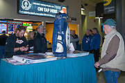 KELOWNA, CANADA - MARCH 17:  Black Mountain at the Kelowna Rockets game on March 17, 2018 at Prospera Place in Kelowna, British Columbia, Canada.  (Photo By Cindy Rogers/Nyasa Photography,  *** Local Caption ***