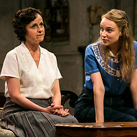 The Chalk Garden by Enid Bagnold;<br /> Directed by Alan Strachan;<br /> Emma Curtis (as Laurel);<br /> Amanda Root (as Miss Madrigal);<br /> Chichester Festival Theatre, Chichester;<br /> 30 May 2018.<br /> © Pete Jones<br /> pete@pjproductions.co.uk
