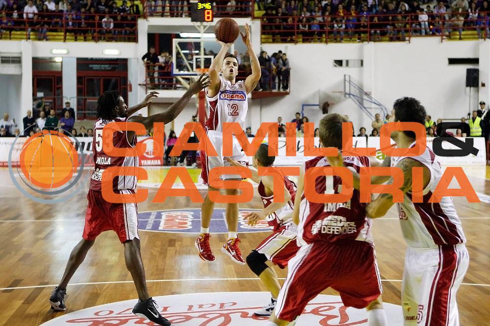 DESCRIZIONE : Barcellona Pozzo di Gotto Campionato Lega Basket A2 2010-11 Sigma Barcellona Aget Imola<br /> GIOCATORE : Ryan Bucci<br /> SQUADRA : Sigma Barcellona<br /> EVENTO : Campionato Lega Basket A2 2010-2011<br /> GARA : Sigma Barcellona Aget Imola<br /> DATA : 07/11/2010<br /> CATEGORIA : Tiro Three Point<br /> SPORT : Pallacanestro <br /> AUTORE : Agenzia Ciamillo-Castoria/G.Pappalardo<br /> Galleria : Lega Basket A2 2010-2011 <br /> Fotonotizia : Barcellona Pozzo di Gotto Campionato Lega Basket A2 2010-11 Sigma Barcellona Aget Imola<br /> Predefinita :