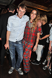 Singer-songwriter DELILAH and JW ANDERSON at the JW Anderson Top Shop Party held at Madame Jojo's, 8-10 Brewer Street, London W1 on 17th September 2012.