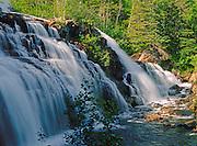Falls at Minnk Creek<br /> near Marathon <br /> Ontario<br /> Canada
