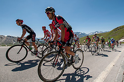 Amael Moinard (FRA) of BMC Racing team during the 166.8 km long 6th stage from Lienz to Kitzbuheler Horn at 67th Tour of Austria, on July 8, 2015, Austria. Photo by Urban Urbanc / Sportida