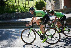 Riejanne Markus (NED) leads the bunch at Emakumeen Bira 2018 - Stage 1, a 108 km road race starting and finishing in Legazpi, Spain on May 19, 2018. Photo by Sean Robinson/Velofocus.com
